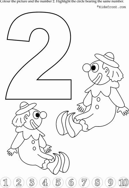 Sayilar çalişmasi Ve Boyamalar 93 Preschool Activity