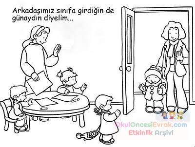 Okul öncesınde Sınıf Kuralları 29 Preschool Activity