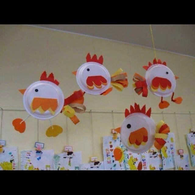 Sanat etkinli i 1060 preschool activity for Addobbi finestre natale scuola infanzia