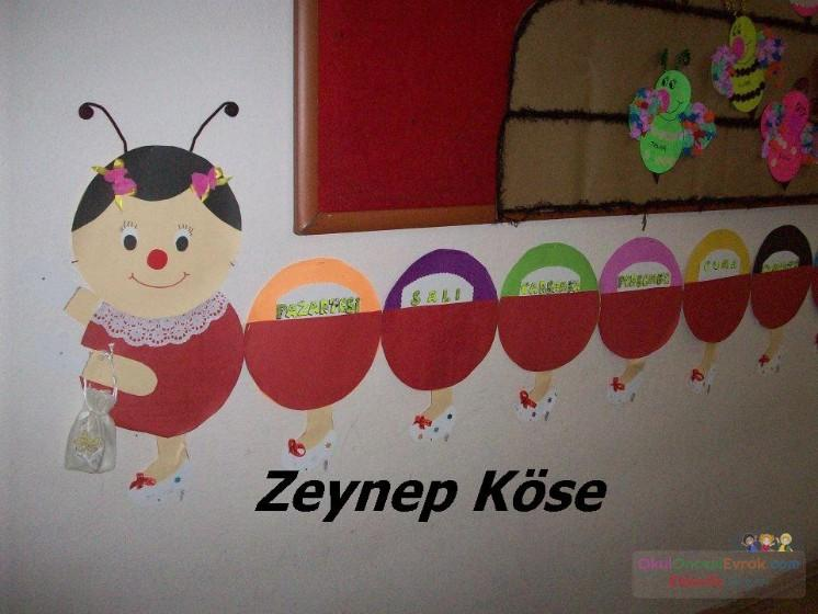 Haftanın Günleri Preschool Activity