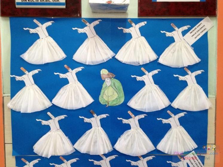 Mevlana Ve Semazenler Preschool Activity