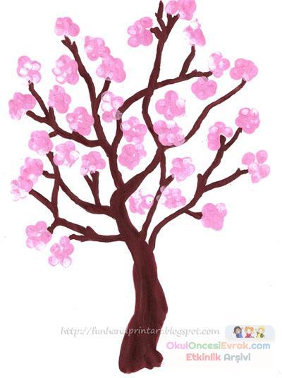 Ilkbahar Ağaçı Preschool Activity
