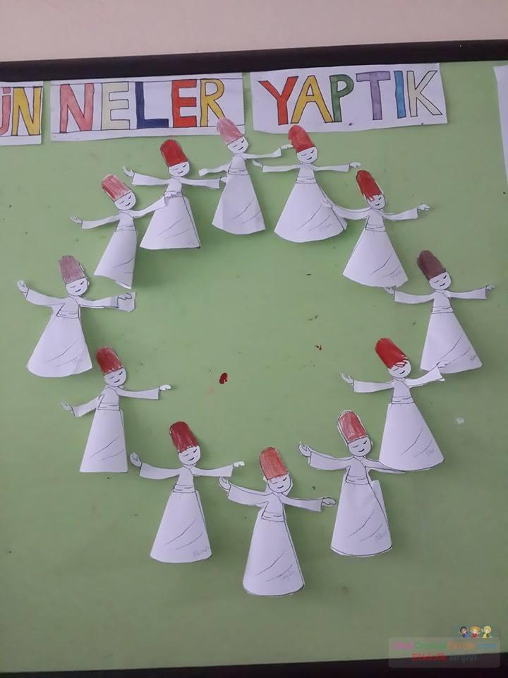 Mevlana Preschool Activity