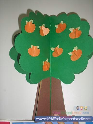 3 Boyutlu Ağaçlar 1 Preschool Activity