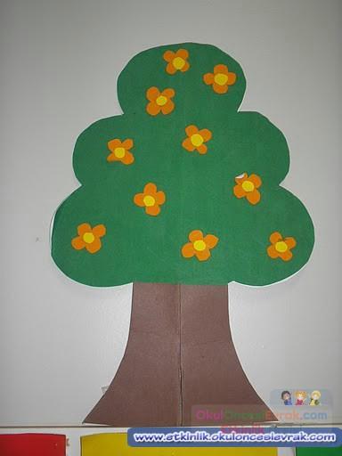 3 Boyutlu Ağaçlar 2 Preschool Activity