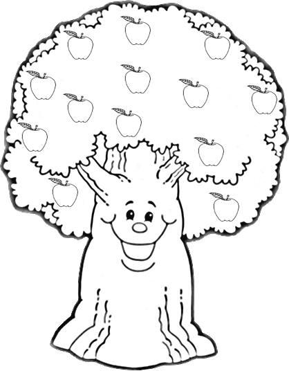 Ağaç Boyama 1 Preschool Activity
