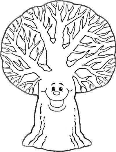 Ağaç Boyama 2 Preschool Activity
