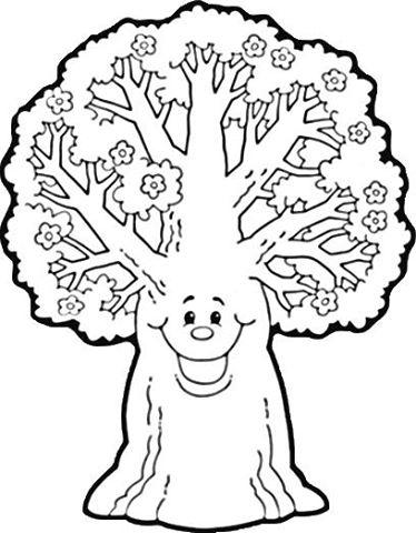 Ağaç Boyama 3 Preschool Activity