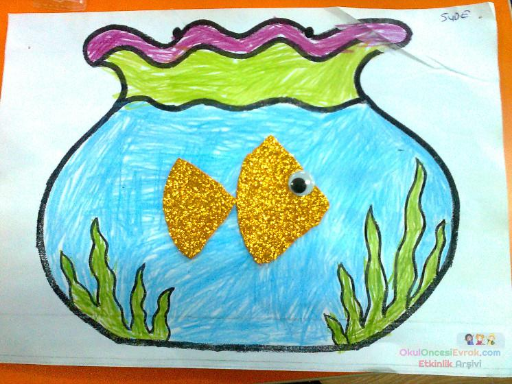 Akvaryum Balık Preschool Activity