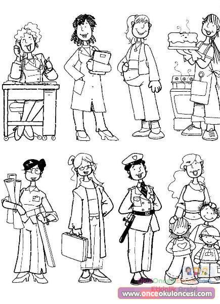 Anneler Günü Ve Kadınlar Günü 39 Preschool Activity