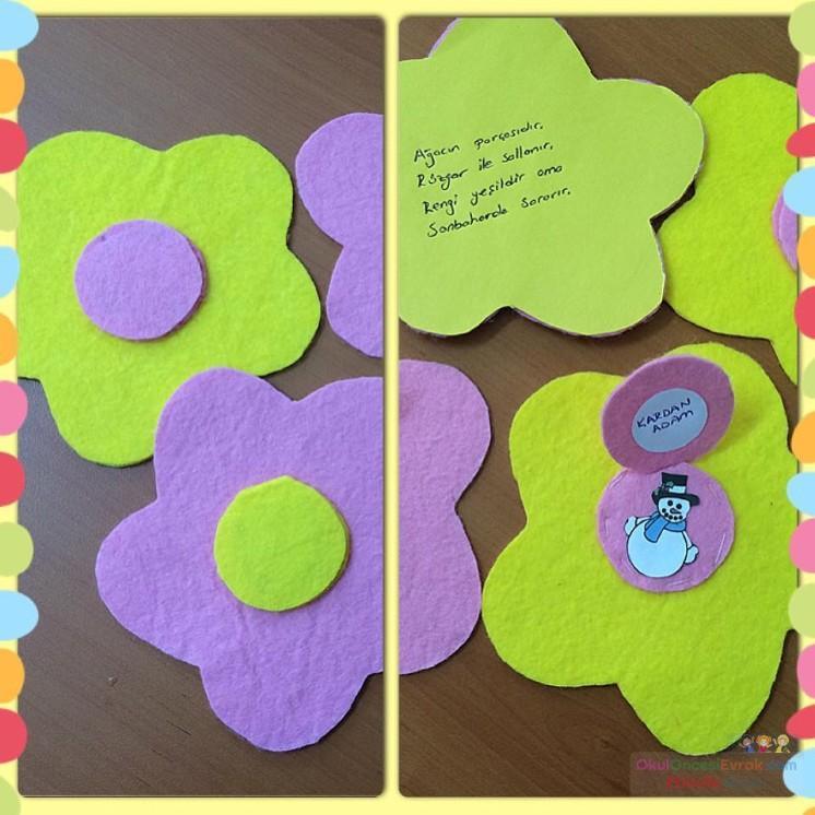 Gelişim Dosyası Süslemesiboyama Sayfası Anneler Günü Kartıartık
