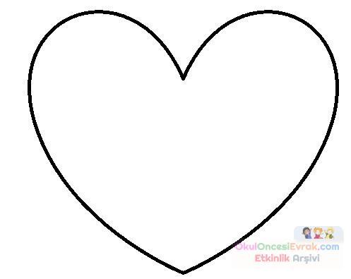 Kalp Kalıbı Boyama Gazetesujin