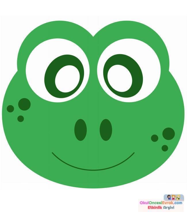Kurbağa Etkinlikleri Ve Boyama çalışması 12 Preschool Activity