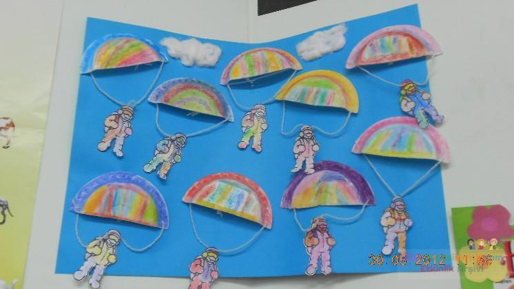 Paraşüt Preschool Activity