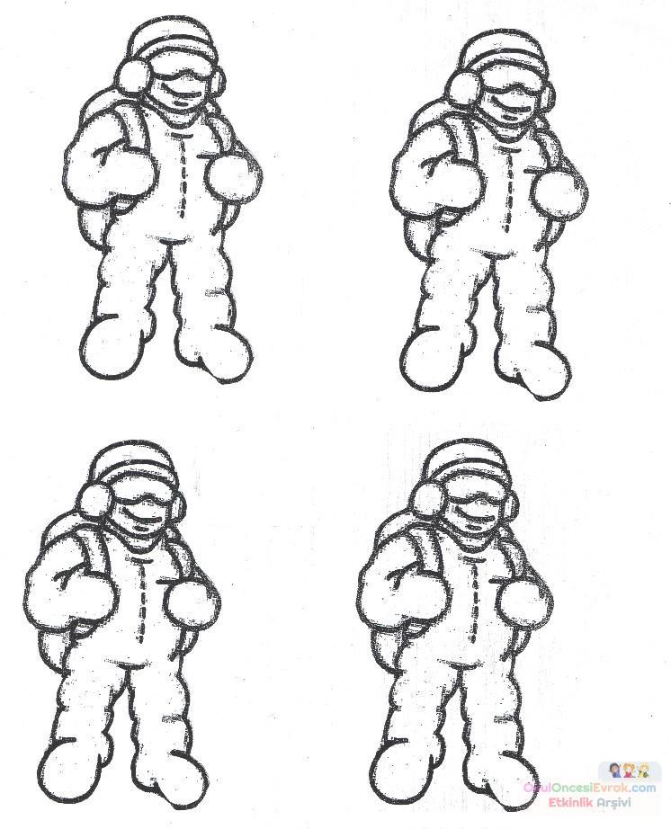 Paraşütçü Preschool Activity