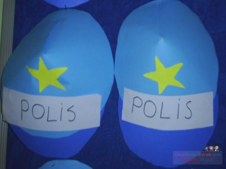Polis şapkasıjpg Preschool Activity