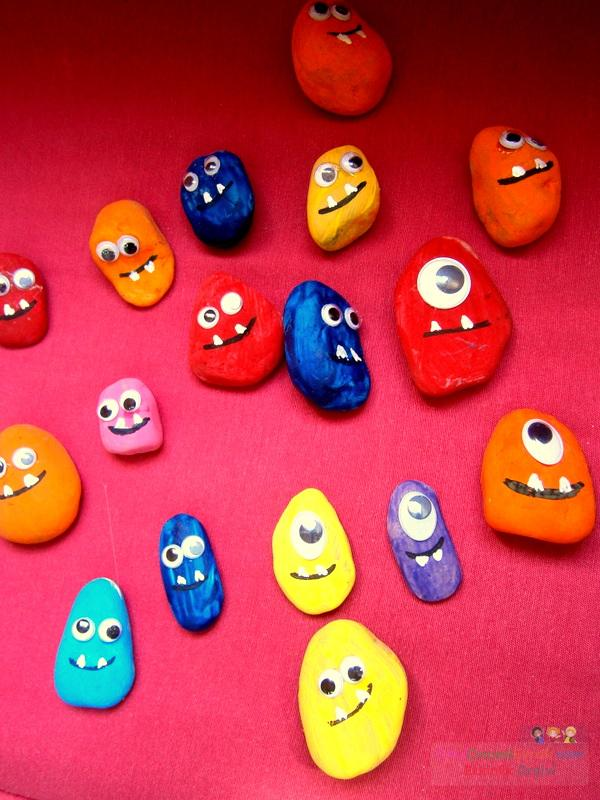 Taş Boyama 2 Preschool Activity