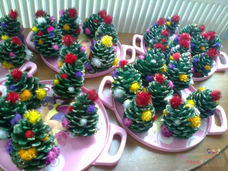 Yılbaşi Ağacı Preschool Activity