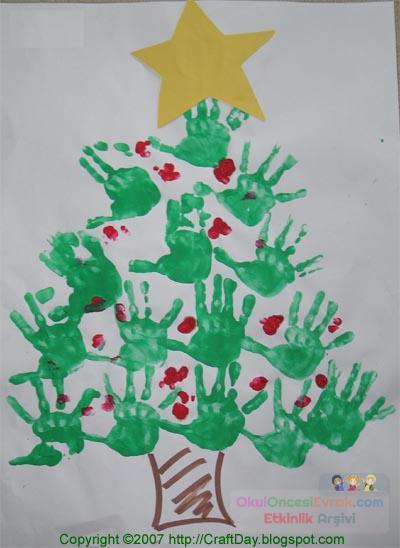 Okul öncesi Yılbaşı Etkinlikleri 5 Preschool Activity