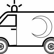 Acil Ambulans Boyama Sayfasi Preschool Activity