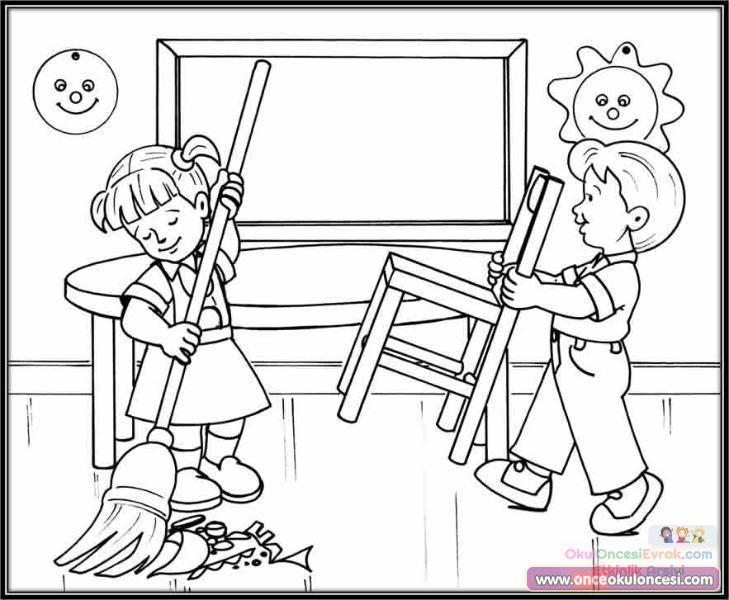 Değerler Eğitimi 396 Preschool Activity