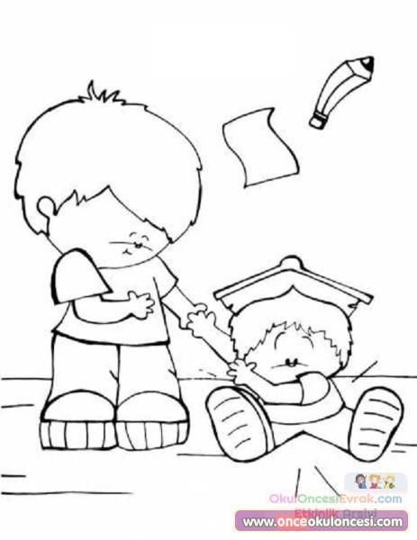 Değerler Eğitimi 473 Preschool Activity