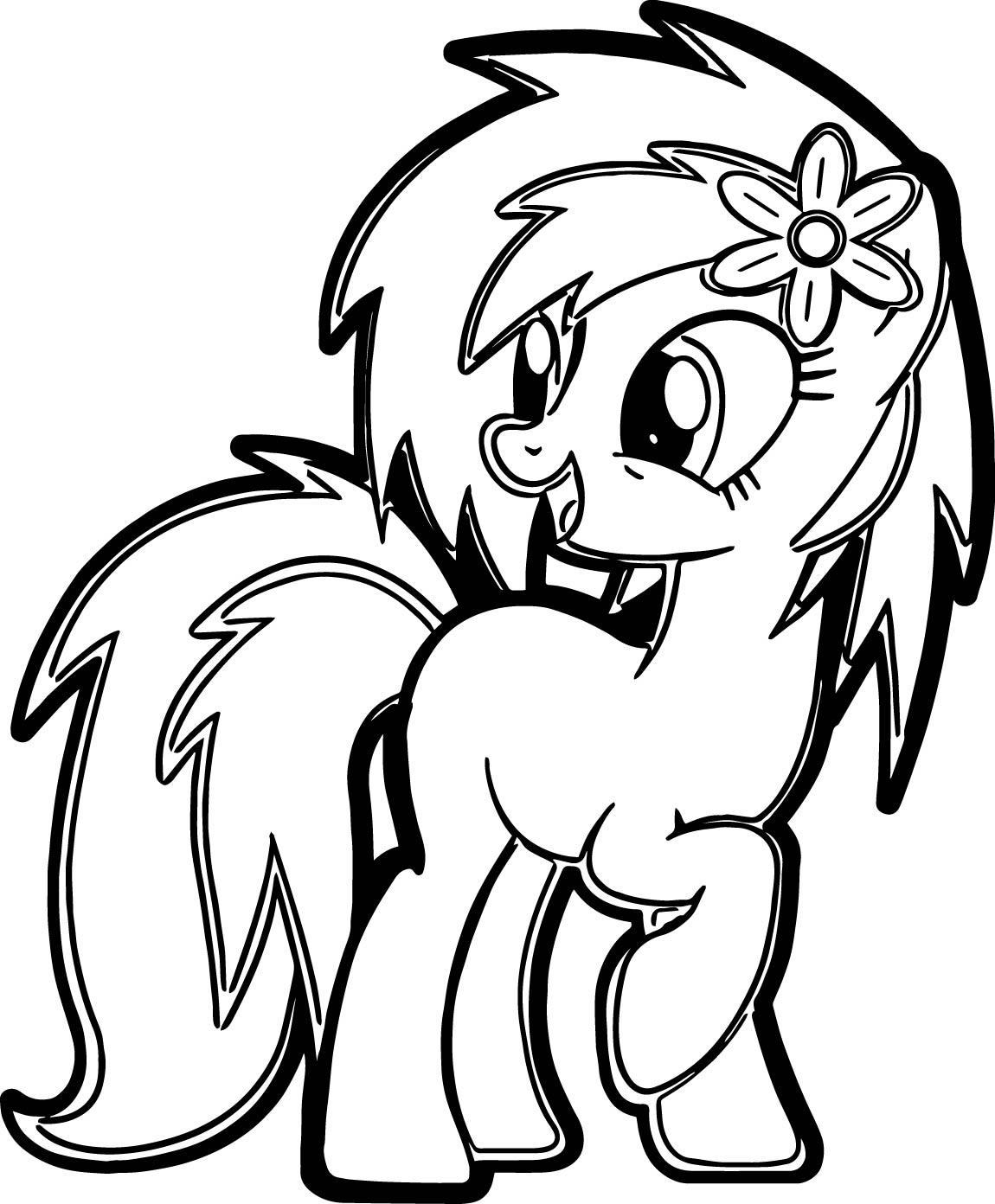 Benim Pony Im Boyama Sayfasi Preschool Activity