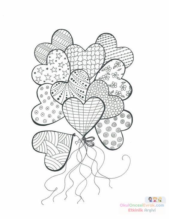 Saksı Kalıbı çiçek Boyama Artık Materyal 102 Preschool Activity