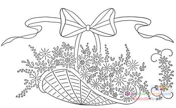 Saksı Kalıbı çiçek Boyama Artık Materyal 74 Preschool Activity