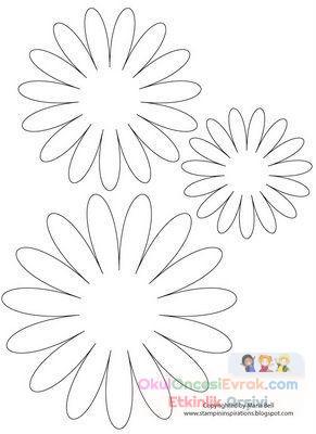 Saksı Kalıbı çiçek Boyama Artık Materyal 92 Preschool Activity