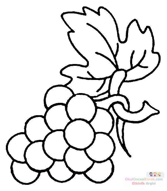Meyve Boyama Sayfalari 7 Hobi Fikirleri Yaratıcı El Işi örnekleri
