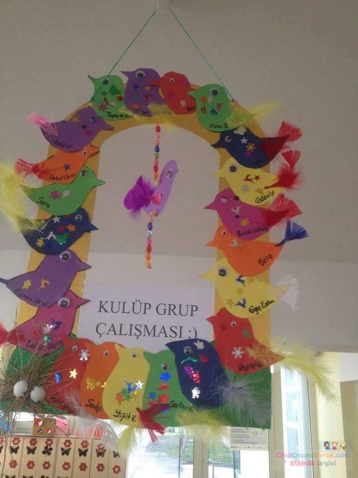 Okul öncesinde Sanat Etkınliği Ve Boyama çalışması 481 Preschool
