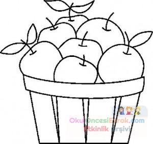 Okul öncesinde Sebze Ve Meyveler 20 Preschool Activity
