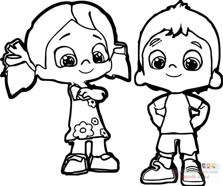 Sanat Etkinliği Ve Boyama Sayfası 115 Preschool Activity