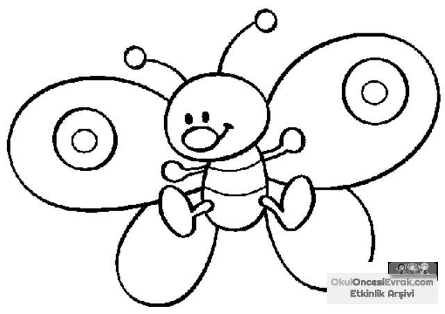 Sanat Etkinliği Ve Boyama Sayfası 6 Preschool Activity