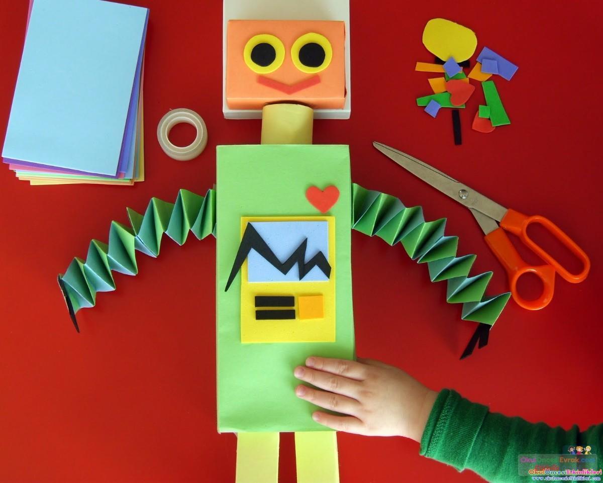 Как сделать ребенку робота