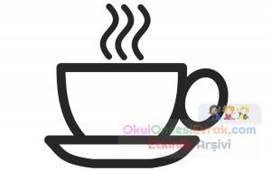 Süt Ve çay Boyama çalişması 1 Preschool Activity