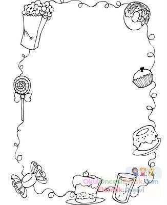 çerçeve Kalıpları 8 Preschool Activity