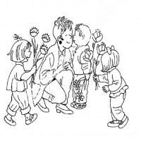 öğretmenler Günü 110 Preschool Activity