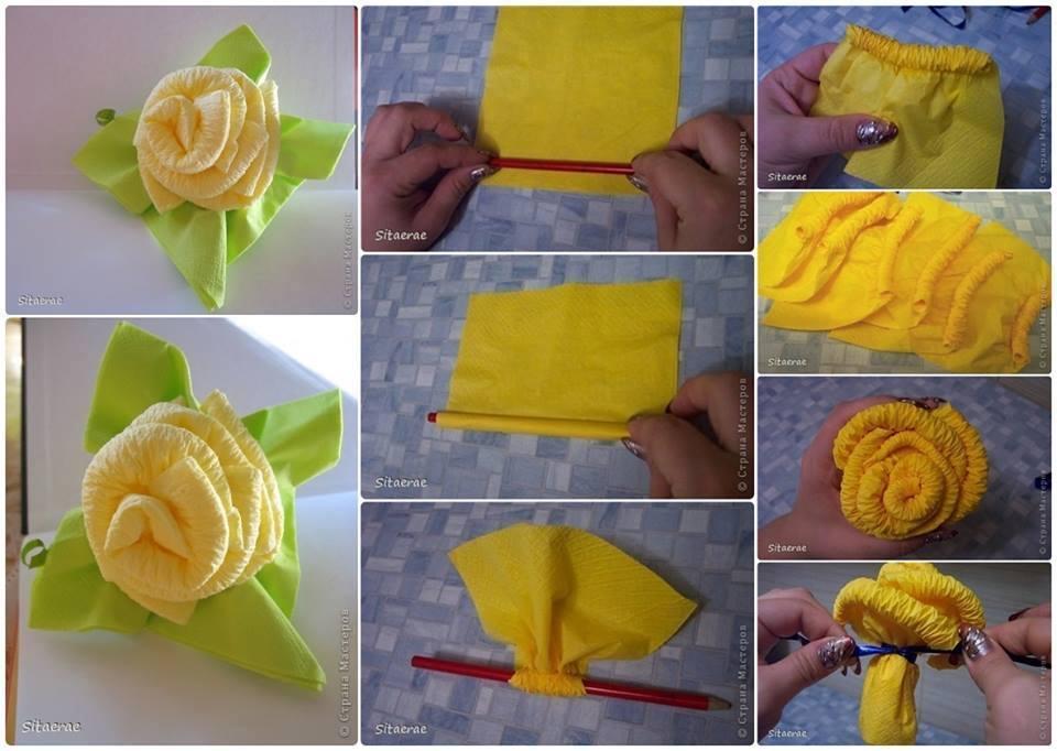 Как сделать букет из полотенец мастер класс