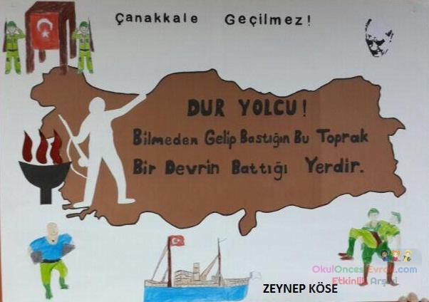 18 Mart çanakkale Zaferi Preschool Activity