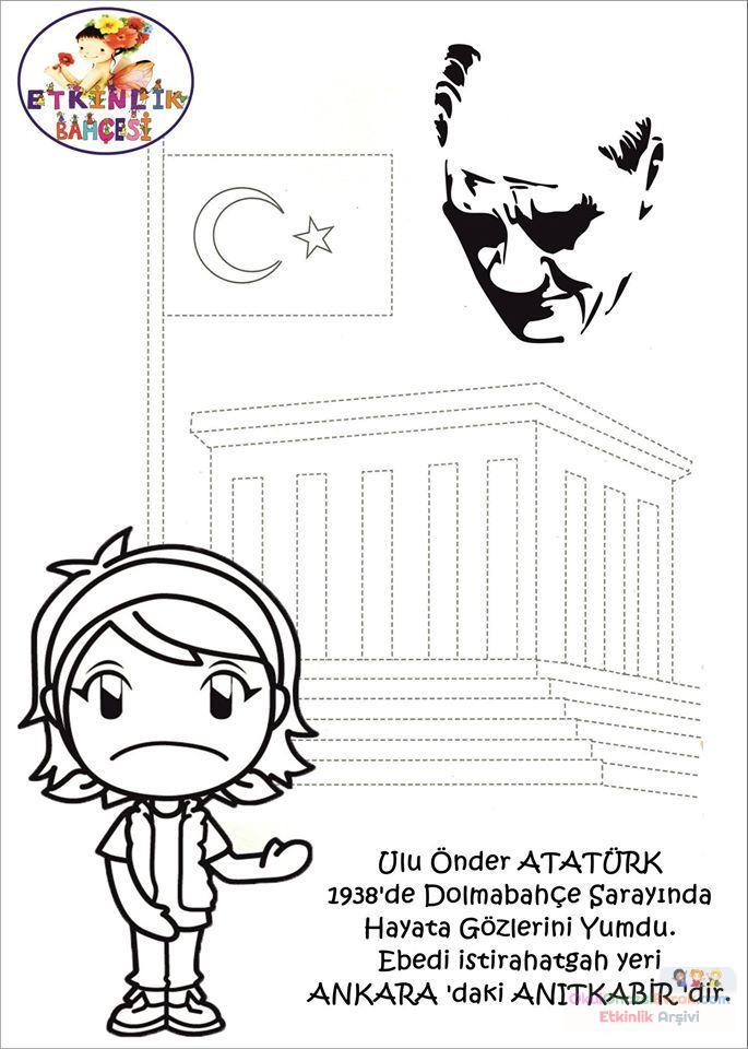 Atatürk Etkinlikleri 12 Preschool Activity