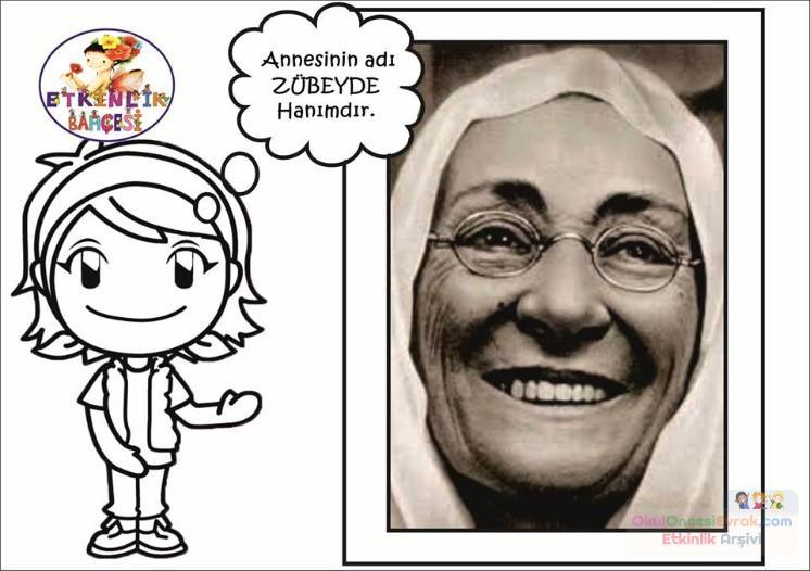 Atatürk Haftası 28 Preschool Activity