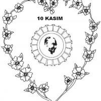 10 Kasim Boyama Sayfalari 5 Preschool Activity