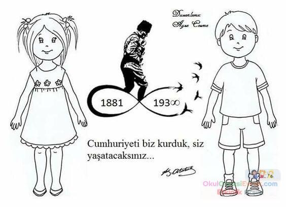 Atatürk Haftası 23 Nisan 111 Preschool Activity