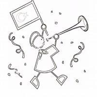 23 Nisan Belirli Gün Ve Haftalar Boyama Sayfası 6 Preschool Activity