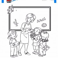 öğretmenler Günü Belirli Gün Ve Haftalar Boyama Sayfası 12
