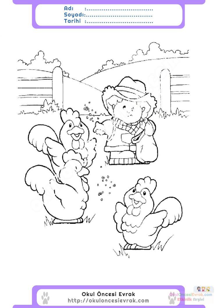 Hayvanları Koruma Günü Belirli Gün Ve Haftalar Boyama Sayfası 4