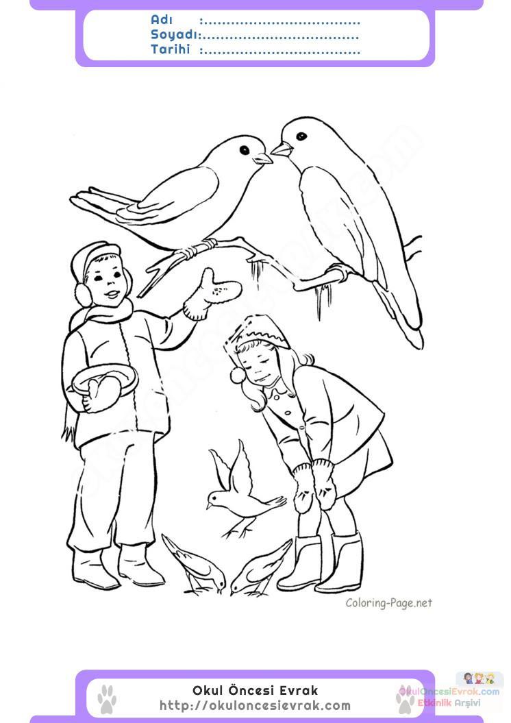 Hayvanları Koruma Günü Belirli Gün Ve Haftalar Boyama Sayfası 8