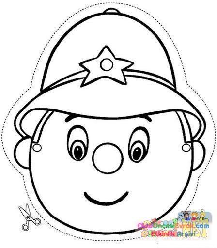 Polıs Haftası 24 Preschool Activity